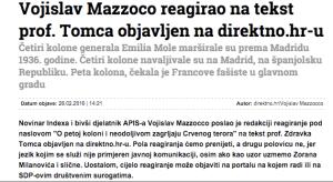 Portal direktno.hr odbio je objaviti cijelo reagiranje na tekst Zdravka Tomca